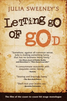 Affiche du film Julia Sweeney - Letting Go of God