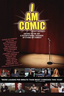 Affiche du film I Am Comic