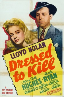 Affiche du film Dressed to Kill