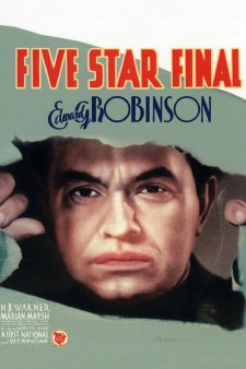 affiche du film Five Star Final