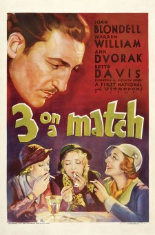 Affiche du film Three on a Match