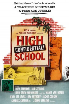 Affiche du film High School Confidential!
