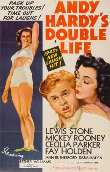 Affiche du film Andy Hardy's Double Life