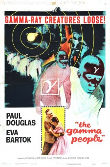 Affiche du film The Gamma People