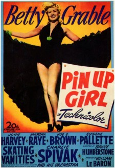 affiche du film Pin Up Girl
