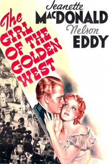 Affiche du film The Girl of the Golden West