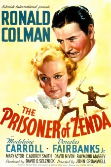 Affiche du film The Prisoner of Zenda