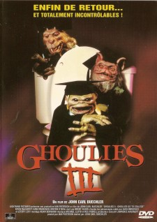 Affiche du film Ghoulies III: Ghoulies Go to College