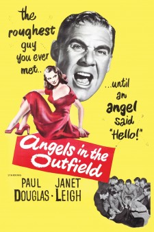 Affiche du film Angels in the Outfield