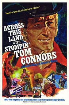 Affiche du film Across This Land with Stompin' Tom Connors