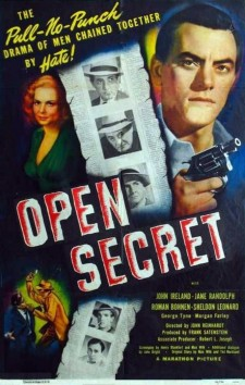 Affiche du film Open Secret