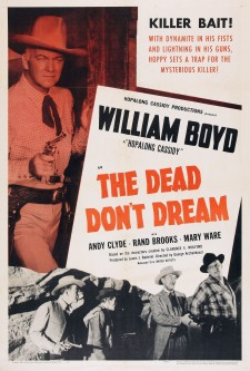 Affiche du film The Dead Don't Dream