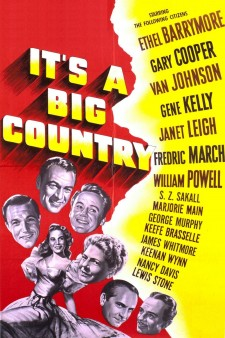 Affiche du film It's a Big Country