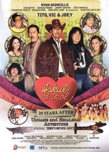 Affiche du film Iskul Bukol 20 Years After (Ungasis and Escaleras Adventure)
