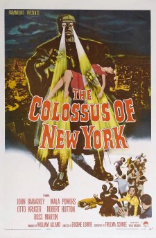 Affiche du film Le Colosse De New York