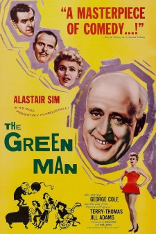Affiche du film The Green Man