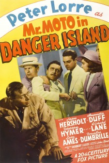 Affiche du film Mr. Moto in Danger Island