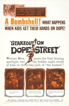 Affiche du film Stakeout on Dope Street