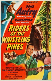 Affiche du film Riders of the Whistling Pines