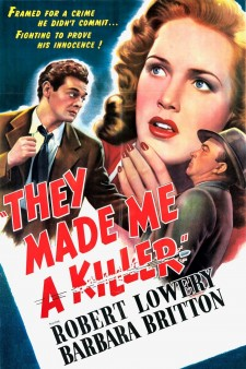 affiche du film They Made Me a Killer