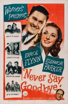 Affiche du film Never Say Goodbye