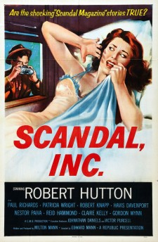 Affiche du film Scandal Incorporated