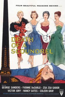 Affiche du film Death of a Scoundrel