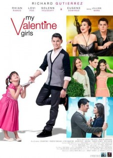 Affiche du film My Valentine Girls
