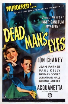 Affiche du film Dead Man's Eyes