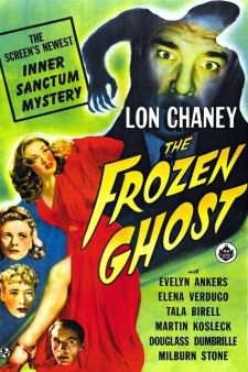Affiche du film The Frozen Ghost