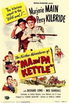 Affiche du film Ma and Pa Kettle