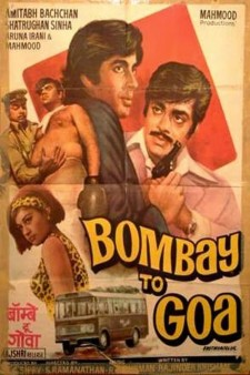 Affiche du film Bombay to Goa