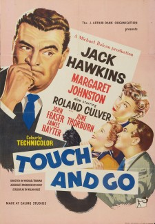 Affiche du film Touch and Go