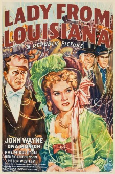 Affiche du film Lady from Louisiana