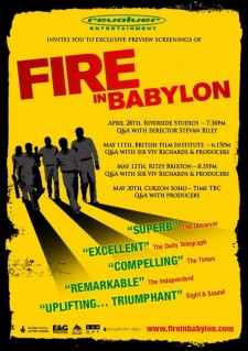 Affiche du film Fire in Babylon