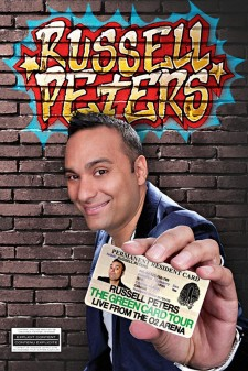 Affiche du film Russell Peters: The Green Card Tour