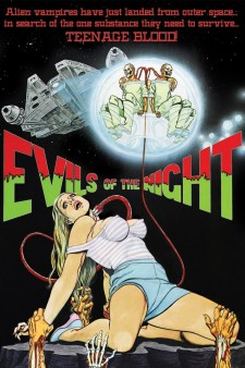 Affiche du film Evils of the Night