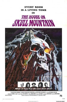 Affiche du film The House on Skull Mountain