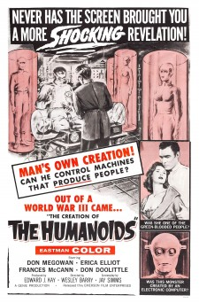 Affiche du film The Creation of the Humanoids