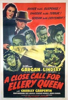 Affiche du film A Close Call for Ellery Queen