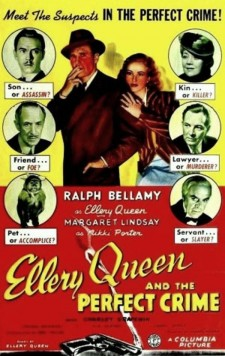 Affiche du film Ellery Queen and the Perfect Crime