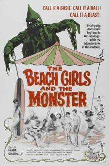 Affiche du film The Beach Girls and the Monster