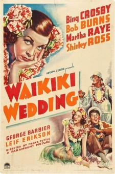 Affiche du film Waikiki Wedding