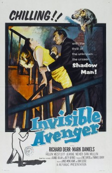 Affiche du film The Invisible Avenger