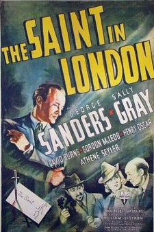 Affiche du film The Saint In London