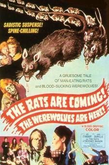 Affiche du film The Rats Are Coming! The Werewolves Are Here!