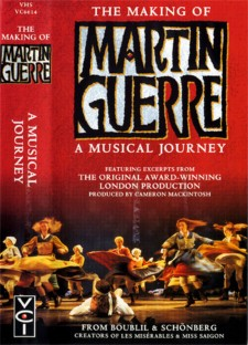 Affiche du film The Making of Martin Guerre: A Musical Journey