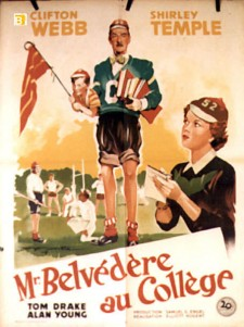 Affiche du film Mr. Belvedere Goes to College