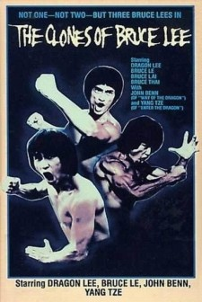 Affiche du film The clones of Bruce Lee