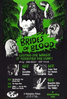 Affiche du film Brides of Blood